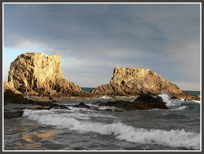 """фото """"Reefs"""" метки: пейзаж, вода, облака"""