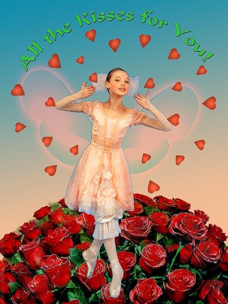"фото ""the Valentine`s day Kiss"" метки: жанр, фотомонтаж,"