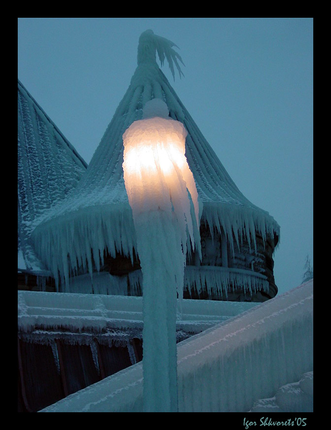 "фото ""Магия льда"" метки: архитектура, пейзаж, зима"