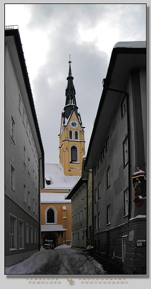 """фото """"Bad Toelz. Bavarian province. Germany."""" метки: путешествия, Европа"""