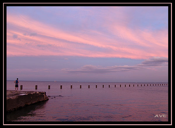 """фото """"Успокоение"""" метки: пейзаж, вода, закат"""