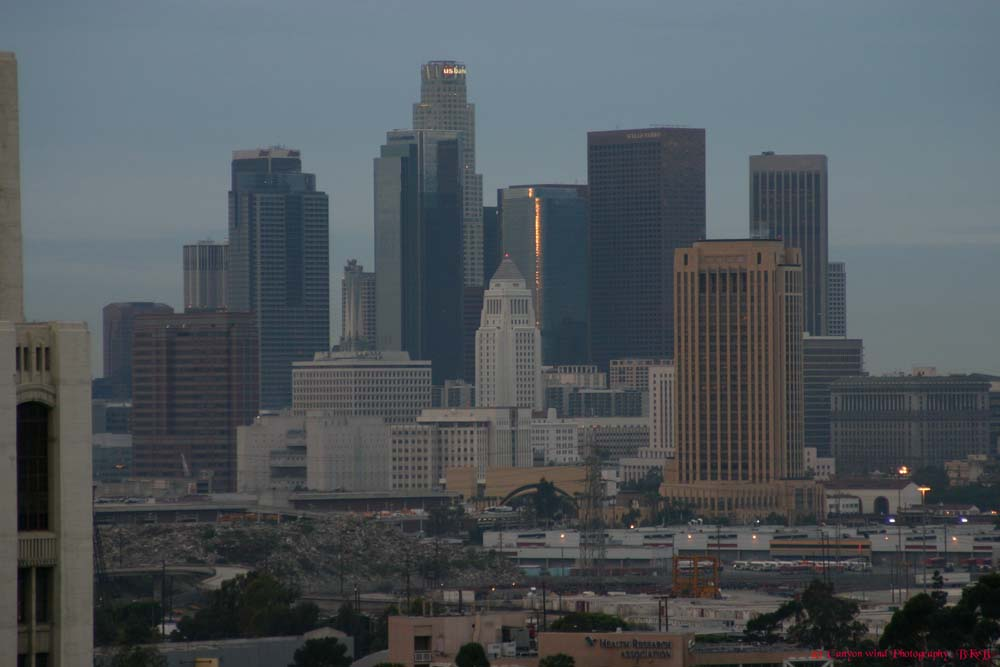 "фото ""Los Angeles Morning !"" метки: путешествия, архитектура, пейзаж, Северная Америка"