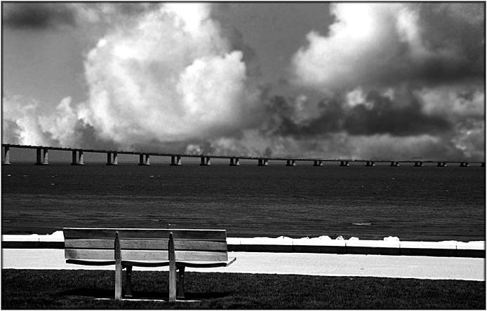 "фото ""The bench"" метки: путешествия, черно-белые, Европа"