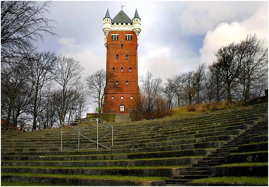 "фото ""The tower and arena theatre"" метки: архитектура, пейзаж,"