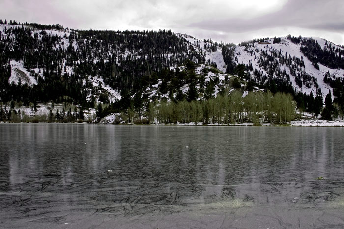 "фото ""Day the lake froze"" метки: разное, пейзаж, зима"
