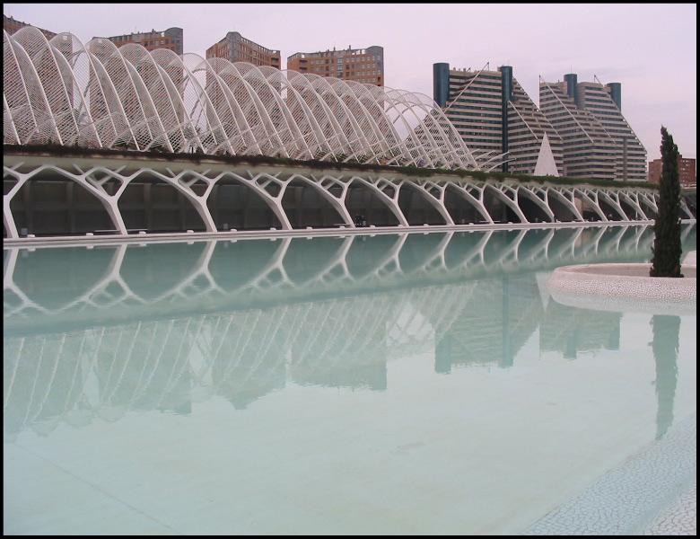 "фото ""las ciencias"" метки: архитектура, пейзаж, вода"