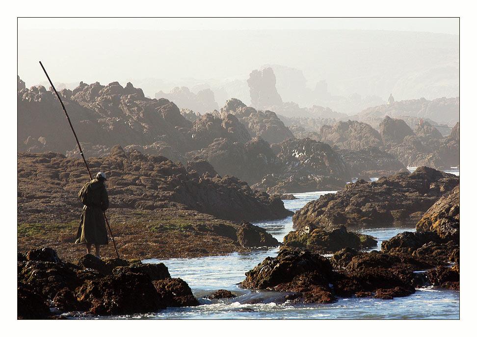 """фото """"Рыбалка в Марокко"""" метки: пейзаж, вода, горы"""