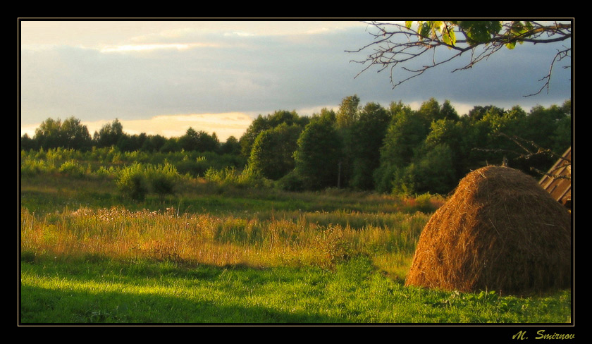 "фото ""Тихий вечер"" метки: пейзаж, закат, лето"