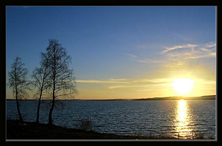 """фото """"вечернее обсуждение солнца"""" метки: пейзаж, закат"""