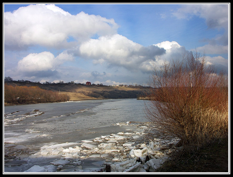 "фото ""Небесные овечки (ЕХР)"" метки: пейзаж, зима, облака"