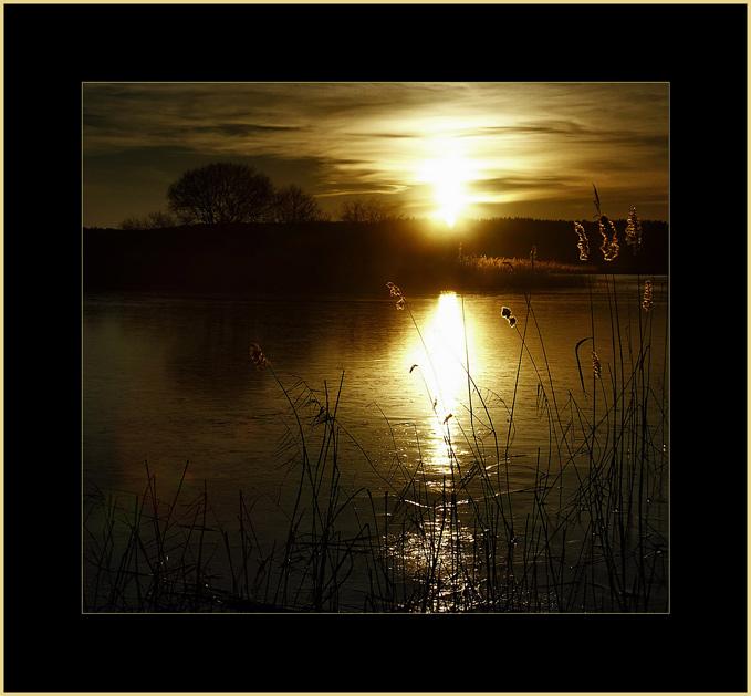 """фото """"Рождение звезды"""" метки: пейзаж, вода, закат"""