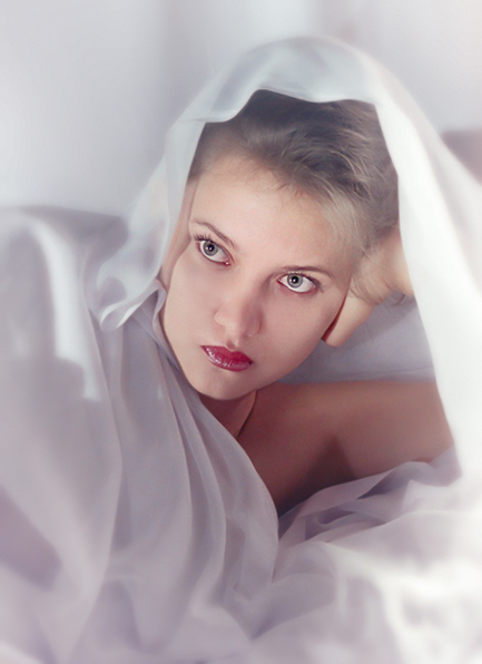 """фото """"В белом (2)"""" метки: портрет, женщина"""
