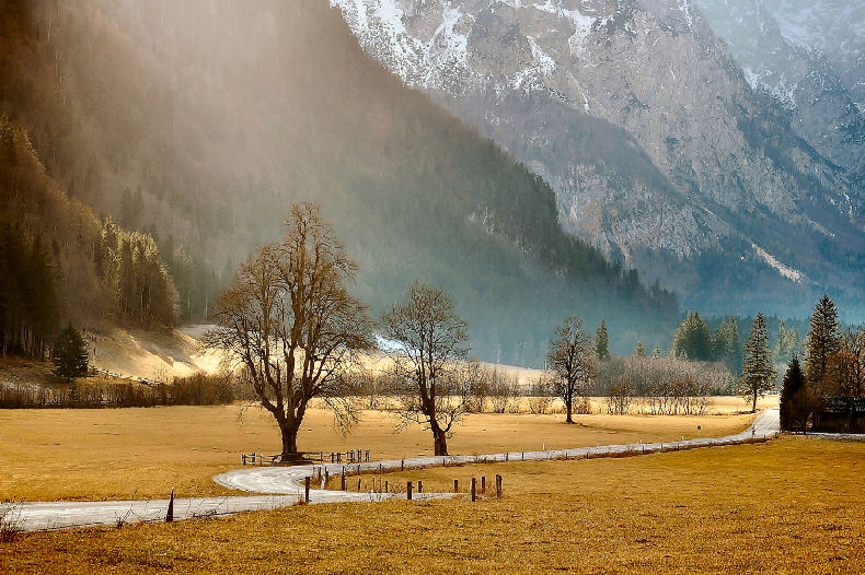 "фото ""How tranquil was my valley"" метки: пейзаж,"