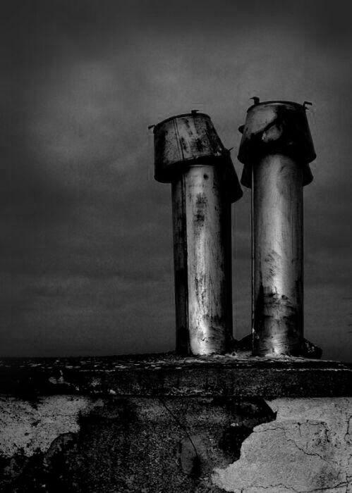 "фото ""two towers"" метки: черно-белые,"
