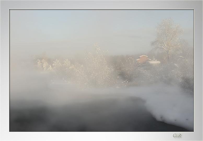 """фото """"Утро"""" метки: пейзаж, зима"""