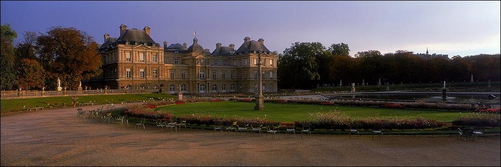 "фото ""Intimate landscape (28) Luxembourg gardens"" метки: путешествия, архитектура, пейзаж, Европа"