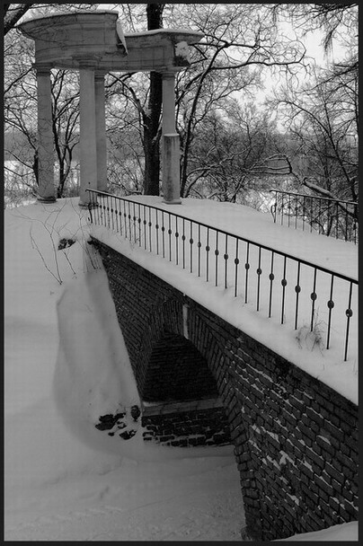 "фото ""После снегопада"" метки: архитектура, пейзаж,"
