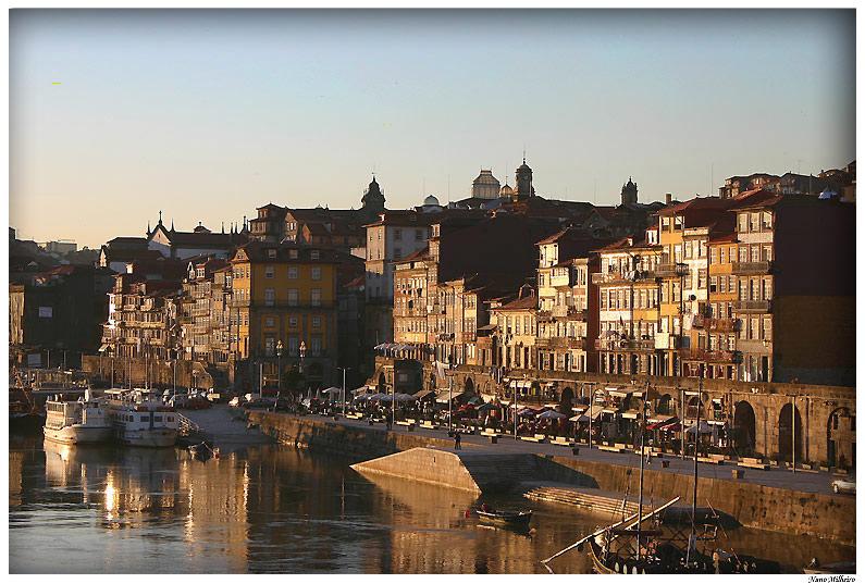 """фото """"Cais da Ribeira(Oporto City)"""" метки: архитектура, пейзаж,"""