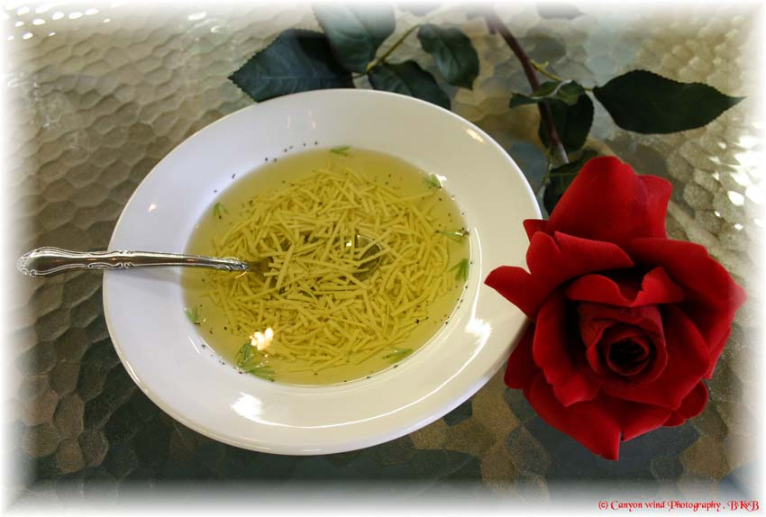 """фото """"Soup for the soul and a Rose for the eyes."""" метки: портрет, натюрморт,"""