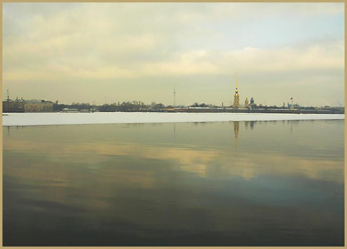 """фото """"Простор меж небом и Невой"""" метки: архитектура, пейзаж,"""
