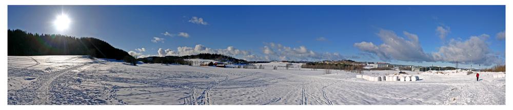"""фото """"Winter land of Dragvoll"""" метки: пейзаж, зима"""