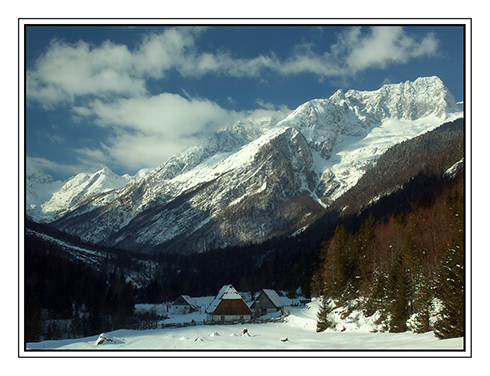 """фото """"TRENTA"""" метки: пейзаж, горы, зима"""