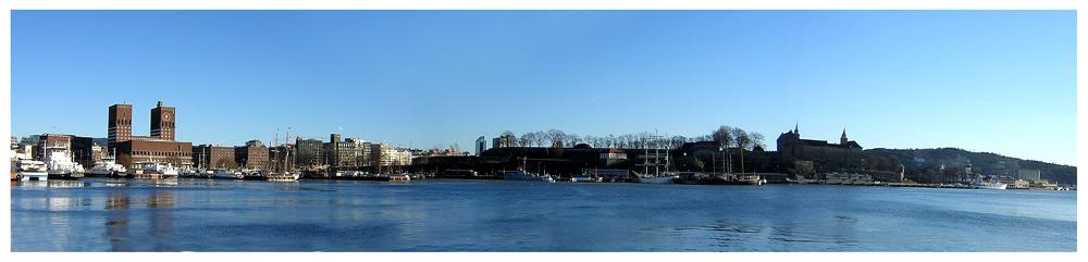 "фото ""Winter mood in Oslo harbor"" метки: пейзаж, зима"
