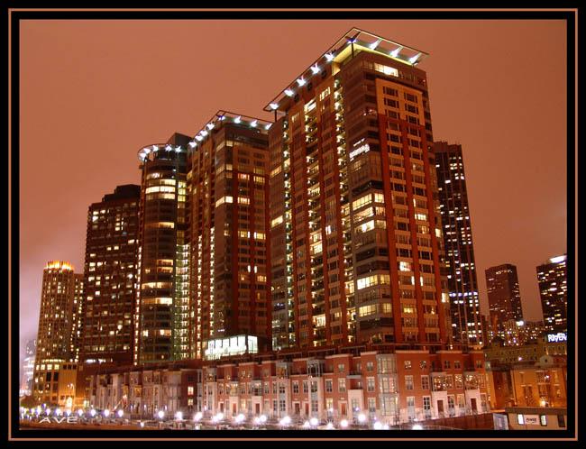 """фото """"Luxury Condos)"""" метки: архитектура, пейзаж, ночь"""