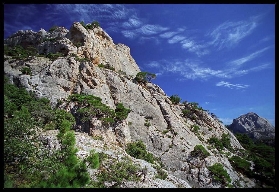 "фото ""упираясь в небеса"" метки: пейзаж, горы, облака"
