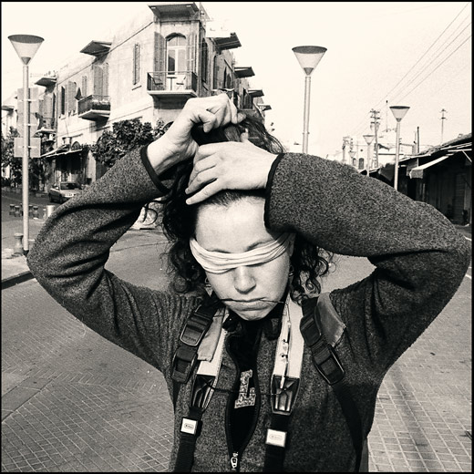 """photo """"a portrait"""" tags: misc., black&white,"""