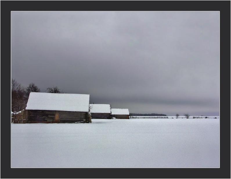 """фото """"7-00"""" метки: пейзаж, зима"""