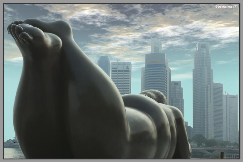 "фото ""Botero in Singapore"" метки: путешествия, Азия"