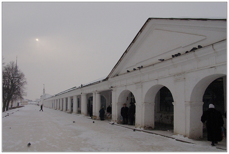 "photo ""Suzdal. Gostiny Dvor"" tags: architecture, landscape,"