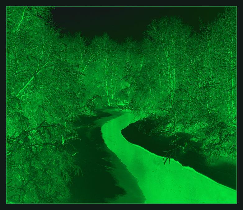 """фото """"Radioactive"""" метки: пейзаж, вода, зима"""