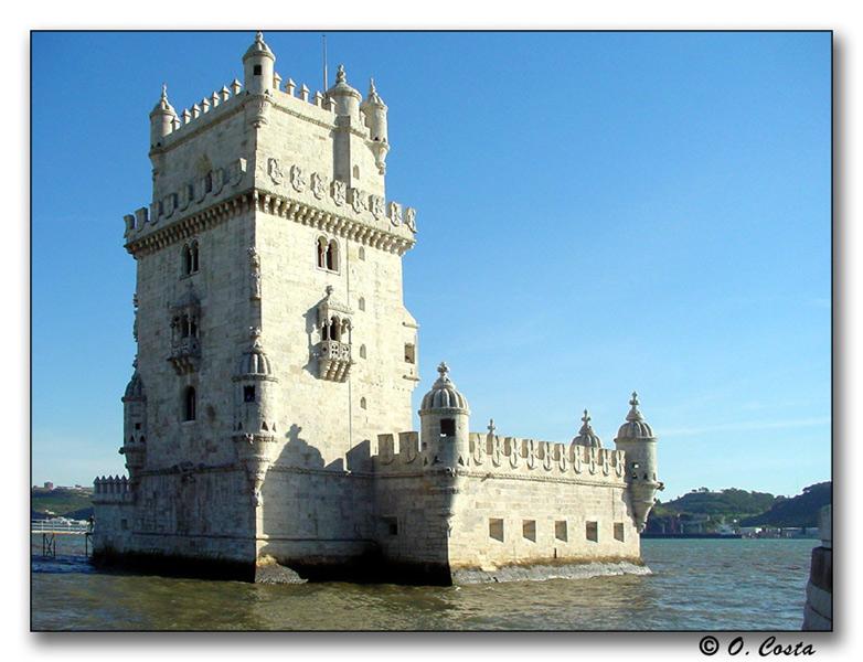 "фото ""Tower of Belem, Lisbon"" метки: архитектура, путешествия, пейзаж, Европа"