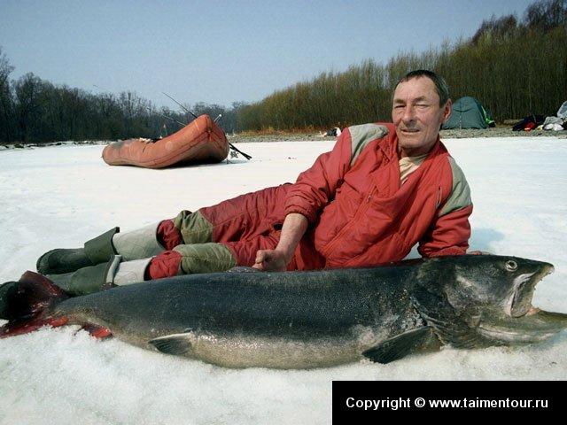 в этих местах замечательная рыбалка и если у вас есть свободное