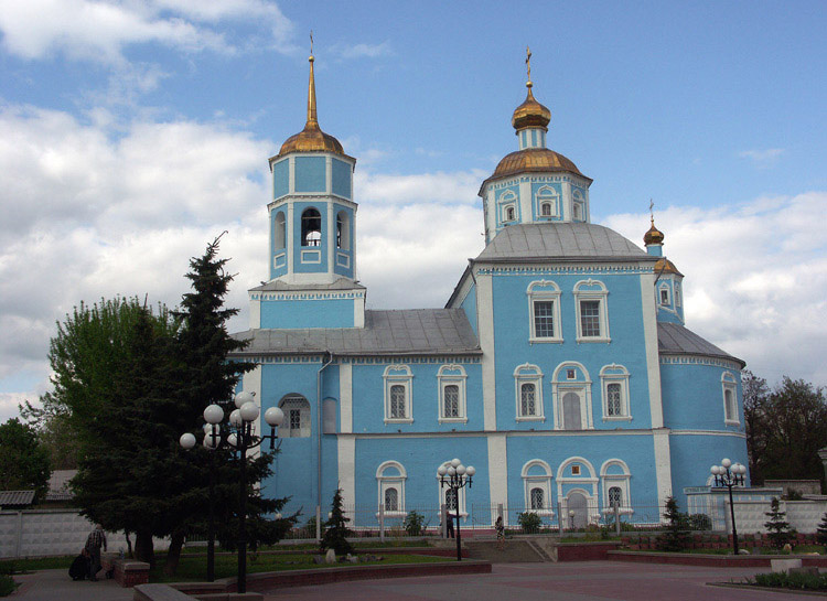 "photo ""Smolenskiy cathedral."" tags: architecture, landscape,"