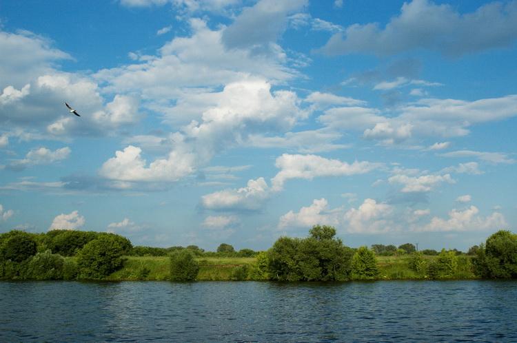 """фото """"Коломенское"""" метки: пейзаж, облака"""