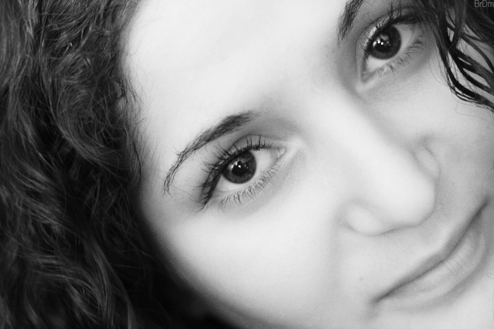 "photo ""Karina"" tags: portrait, black&white, woman"
