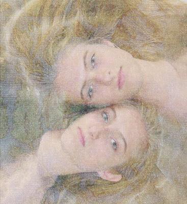"photo ""Sisters"" tags: portrait, montage, woman"