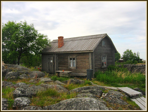 "photo ""Old house on the island"" tags: travel, architecture, landscape, Europe"