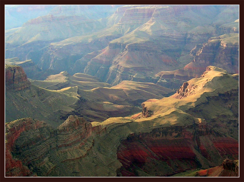 "photo ""Barchans of the Grand Canyon"" tags: landscape, travel, North America, mountains"