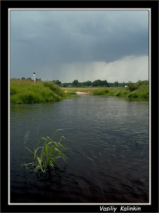 "photo """"Thunder-storm"""" tags: landscape, summer"