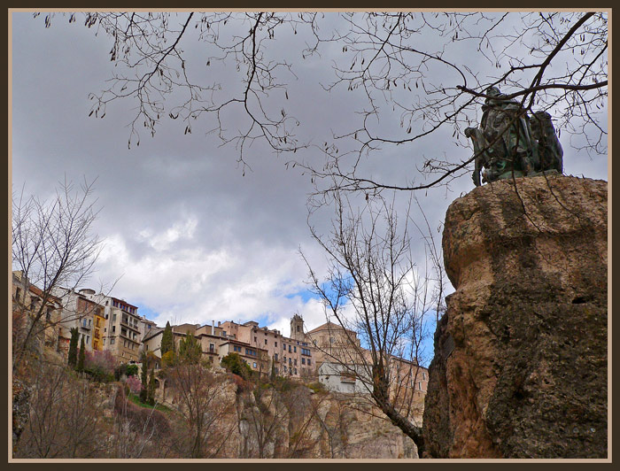 "photo ""Cuenca-2"" tags: architecture, landscape,"
