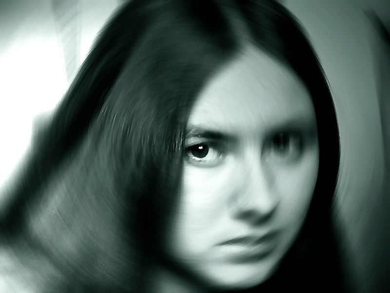 "photo ""Question"" tags: portrait, woman"
