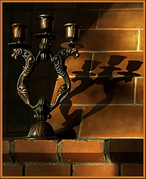 "photo ""Still-life with a candlestick"" tags: still life,"