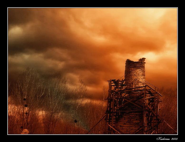 """photo """"Resistance"""" tags: landscape, clouds"""