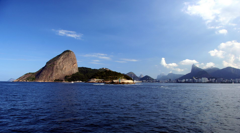 "photo ""Guanabara Bay"" tags: travel, landscape, South America, mountains"