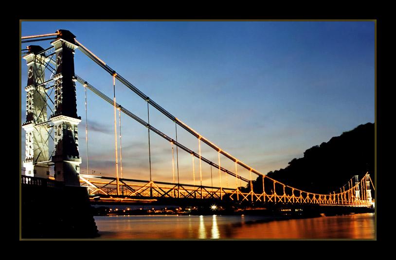 "photo ""Suspension-Bridge #2"" tags: architecture, landscape,"