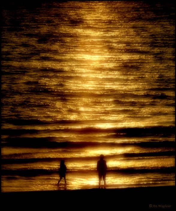 "photo ""Expectation"" tags: landscape, sunset"